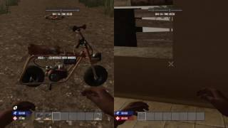 How to build the Mini-Bike - 7 Days To Die - Ps4