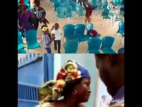 Woman Disgraced Publicly After Been Caught Stealing A Bag In The Church [video]