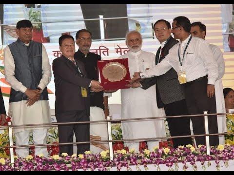 PM Modi at Krishi Unnati Mela in New Delhi