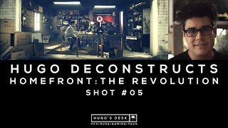 This week I Deconstruct the Homefront: The Revolution game cinematic shot 5. We made this project at Fire Without Smoke for Depp Silver and DamBuster. Enjoy. Music:Backed Vibes Clean - Rollin at 5 by Kevin MacLeod is licensed under a Creative Commons Attribution licence (https://creativecommons.org/licenses/by/4.0/)Source: http://incompetech.com/music/royalty-free/index.html?isrc=USUAN1400029Artist: http://incompetech.com/