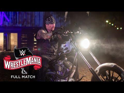 FULL MATCH - Undertaker vs. AJ Styles – Boneyard Match: WrestleMania 36 Part 1