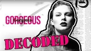 Taylor Swift Gorgeous Analysis   Lyrics Explained