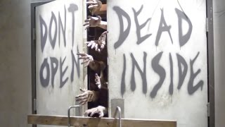 The Walking Dead Walk Through Attraction, Open to the Public Full Tour, Universal Studios Hollywood