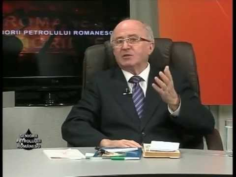Emisiunea Seniorii Petrolului Românesc – Silviu Neguț – 1 noiembrie 2014