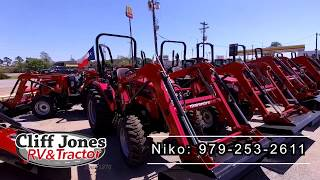 2. Mahindra 2638 HST 4WD Tractor With Loader