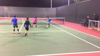 December 15,2015 - Oceanside California - Street Smart Soccer class with boys u9 age matrix. This video features 3 v 3 pick up style street soccer in San Diego ...