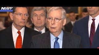 GOT THE VOTES: Mitch McConnell REVEALS Votes for Impeachment Rules