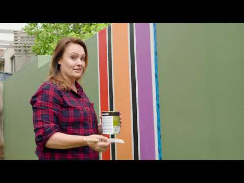 Jazzing up a Feature Wall with Tape | The Home Team S5 E10