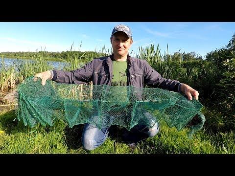 ловля рыбы на раколовку