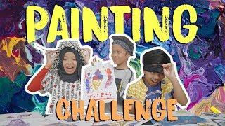 Video Painting Challenge TER-RUSUH with Fatimah Halilintar dan Muntaz Halilintar! MP3, 3GP, MP4, WEBM, AVI, FLV Maret 2019