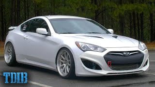 Hyundai Genesis Coupe 2.0 BK2 Review! Should KDM Be Taken Seriously? by That Dude in Blue