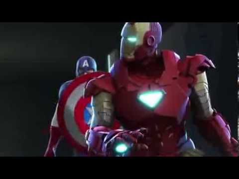 Iron Man And Captain America Heroes United Trailer By Conejotonto