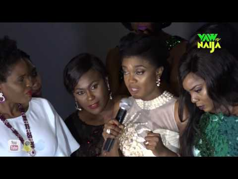 Okafor's Law; Omoni Oboli Breaks Down As Court Injunction Disrupts Movie Premiere