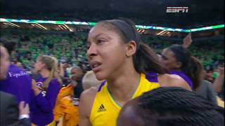 Candace Parker: This is for Pat by WNBA