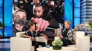 Video Justin Timberlake Surprises Super Bowl Selfie Kid Ryan McKenna MP3, 3GP, MP4, WEBM, AVI, FLV Februari 2018