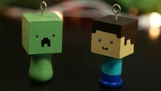 Minecraft Holiday Ornaments - DIY GG