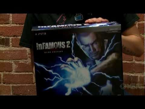 preview-Infamous 2 Hero Edition Unboxing (IGN)