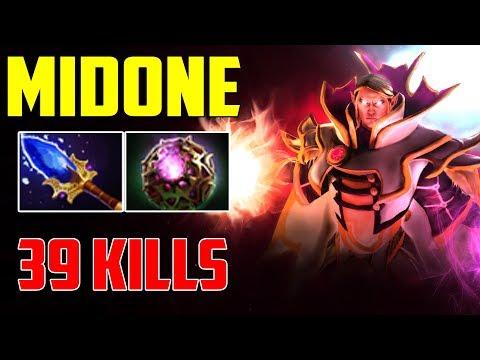 Midone Invoker - 39 kills with OCTARINE CORE + SCEPTER