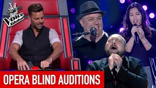 Video The Voice | BEAUTIFUL OPERA 'Blind Auditions' worldwide MP3, 3GP, MP4, WEBM, AVI, FLV Agustus 2018