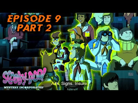 Scooby doo mystery incorporated (Battle of the Humungonauts) season 1 episode 9  (part 2)