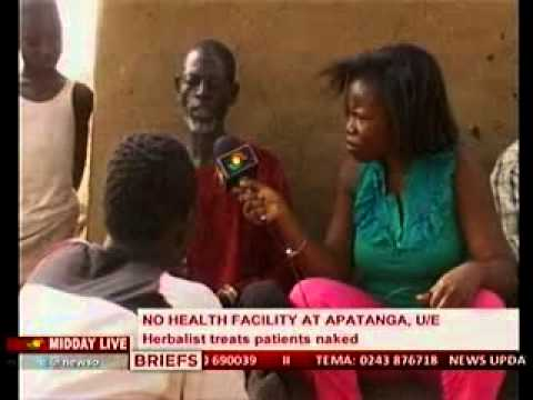 Midday Live -Special Report on Herbalist who Treats patients Naked - 21/1/2014