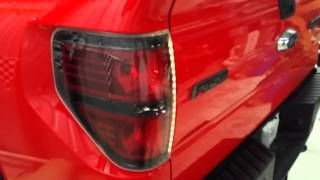 F150 ford raptor svt multi color tail light rings