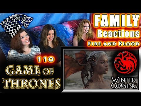Game of Thrones | 110 | FINALE | Fire and Blood | FAMILY Reactions | Fair Use