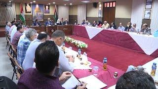 اجتماع المجلس الاستشاري في محافظة طولكرم