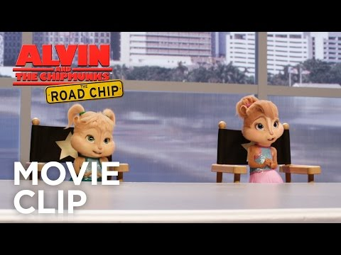 Alvin and the Chipmunks: The Road Chip (Clip 'You're Going to Hollywood')