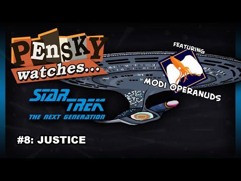 Let's Watch - Star Trek: The Next Generation [8. Justice - Featuring Modi Operandus]
