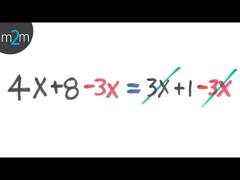 Lösung linearer Gleichungen - HD