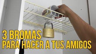 Suscríbete al canal de Tiparraco: http://www.youtube.com/user/tiparracosa?sub_confirmation=1 Hoy nos acompaña Tiparraco para enseñarnos unas divertidas broma...