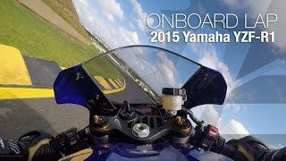 8. 2015 Yamaha YZF-R1 Onboard Lap: Sydney Motorsports Park - MotoUSA