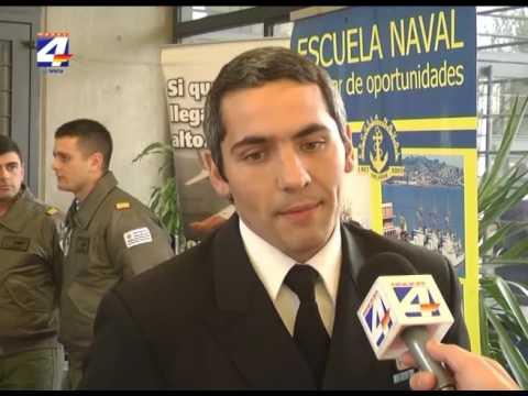 Sandueduca: Presentaron opciones de estudio de la Fuerza Aérea, Armada y Ejército