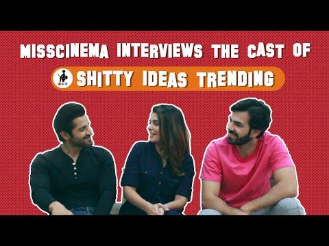 Shitty Ideas Trending/MissCinema SIT interview with  Karan V Grover, Pooja Gor and Pracheen Chauhan