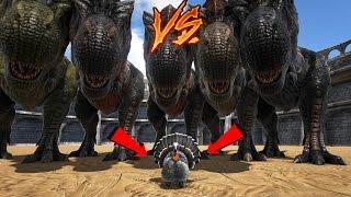 Video 5 T-REX VS SUPER TURKEY ! | ARK: Survival Evolved ! MP3, 3GP, MP4, WEBM, AVI, FLV Oktober 2017