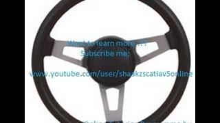 Catia V5 Tutorials Simple Steering Simulation Part 1 Digital Mockup DMU Kinematics