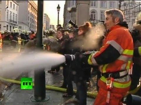 Bombeiros vs Policias – Bruxelas