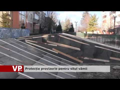 Protecție provizorie pentru situl vămii