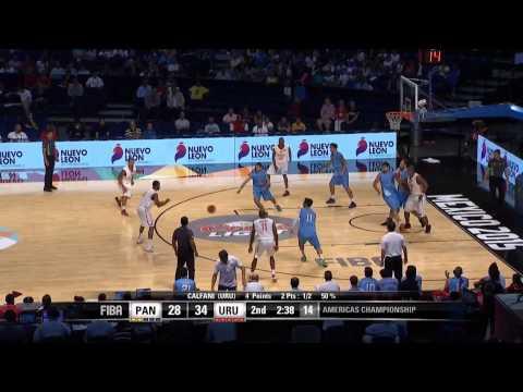 Panama v Uruguay Game Highlights FIBA Americas Championship