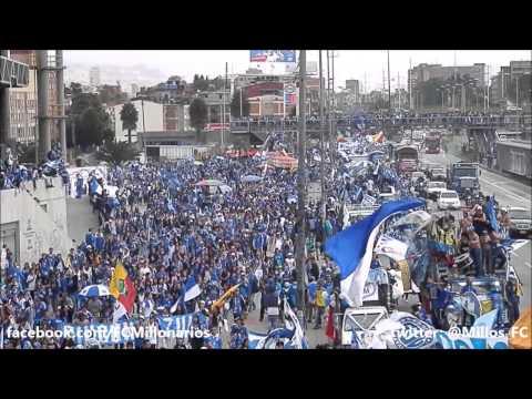 Cumpleaños #69 de Millonarios - Azul y Blanco vistió Bogotá! - Comandos Azules - Millonarios