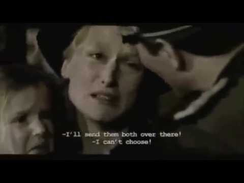 Meryl Streep  -  The Sophie's  choice  - the real choice -the best scene-