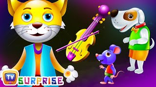 Learn Colours, Domestic Animals & Objects with ChuChu TV Surprise Eggs Nursery Rhymes. Make your kids enjoy the surprise and learn Colours, Home Animals , ob...