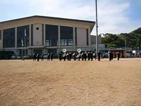 上田市立丸子北中学校のマーチングバンド