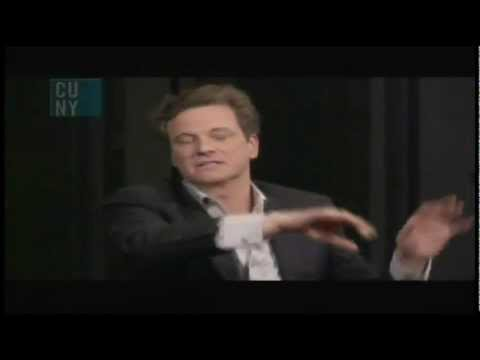 Colin Firth, A Single Man and the phone call scene