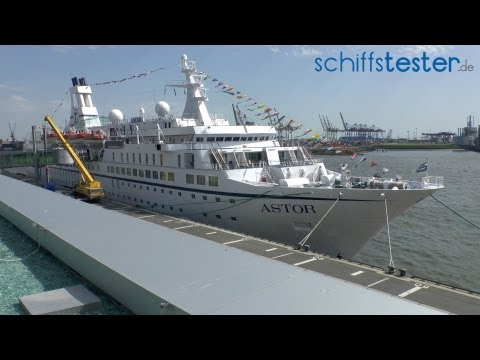 MS Astor - Schiffstour, Rundgang - TransOcean Kreuz ...