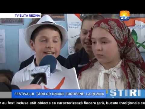 AICI TV FESTIVALUL ȚĂRILOR UNIUNII EUROPENE, LA REZINA