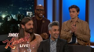 Video Queer Eye Guys on New Season, Squirrel Debate & Antoni's Photo with Kate Beckinsale & Pete Davidson MP3, 3GP, MP4, WEBM, AVI, FLV Mei 2019
