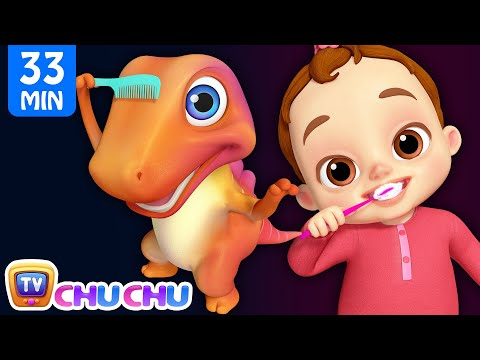 This Is The Way We Brush Our Teeth Good Habits Song + More ChuChu TV 3D Nursery Rhymes & Kids Songs