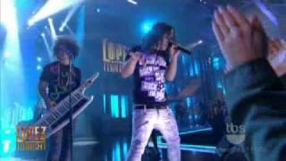 LMFAO - La La La  - Live on George Lopez